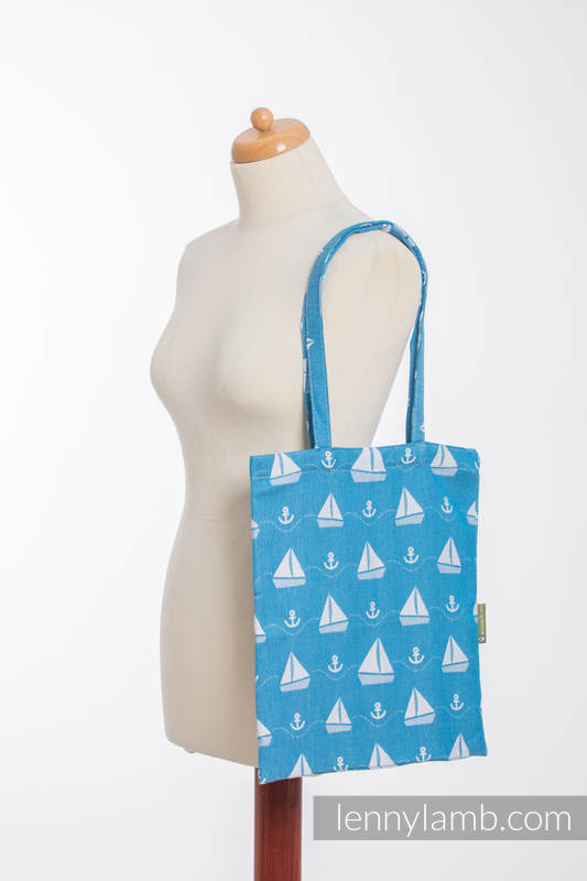 Shopping bag made of wrap fabric (100% cotton) - HOLIDAY CRUISE  #babywearing