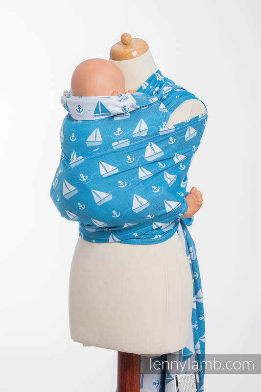 WRAP-TAI carrier Toddler with hood/ jacquard twill / 100% cotton / HOLIDAY CRUISE  #babywearing