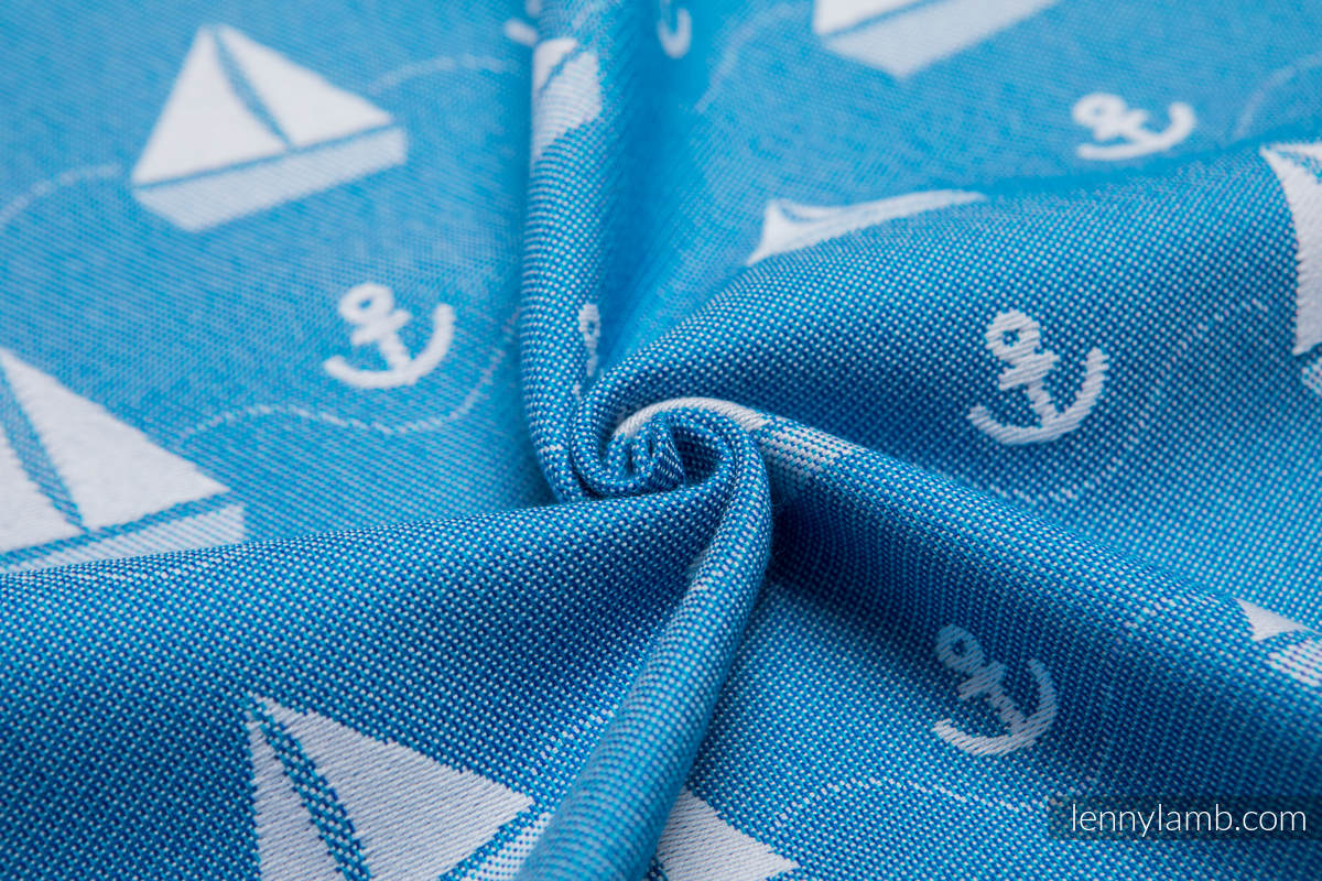 Baby Wrap, Jacquard Weave (100% cotton) - HOLIDAY CRUISE - size M #babywearing