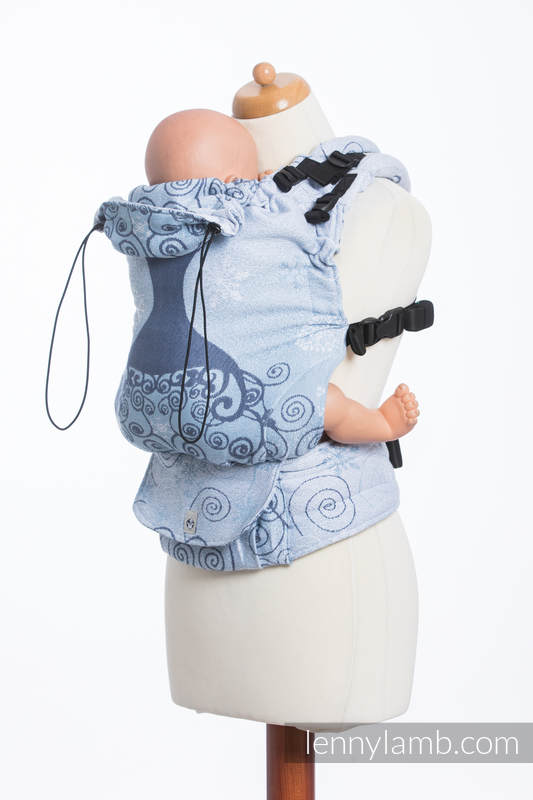 LennyUp Carrier, Standard Size, jacquard weave 100% cotton - wrap conversion from WINTER PRINCESSA  #babywearing