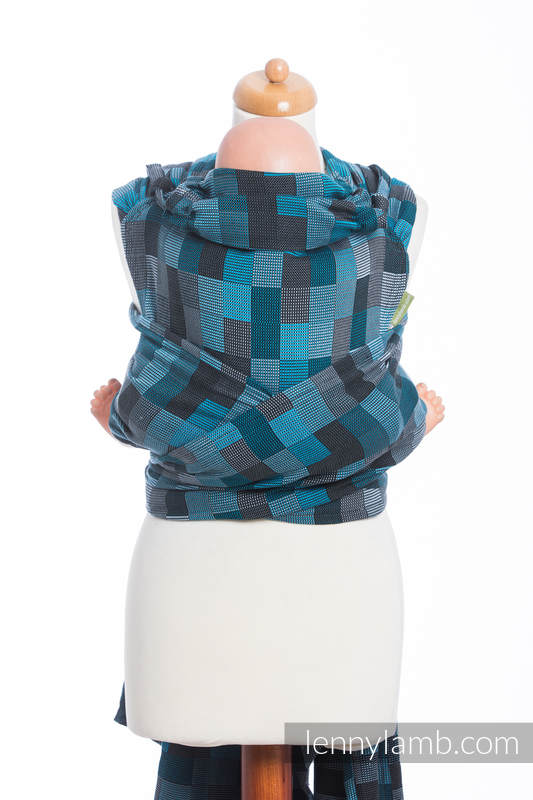 WRAP-TAI carrier Toddler with hood/ crackle twill / 100% cotton / QUARTET RAINY   #babywearing