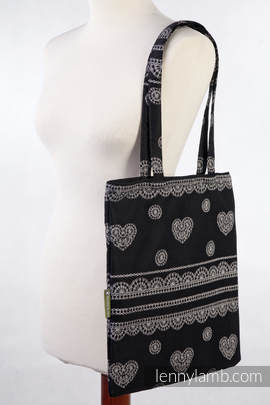 Shopping Bag made of wrap fabric (100% cotton) - GLAMOROUS LACE