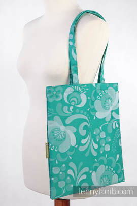 Shopping bag made of wrap fabric (100% cotton) - POWER OF HOPE