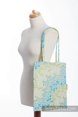 Shopping bag made of wrap fabric (100% cotton) - LEMONADE