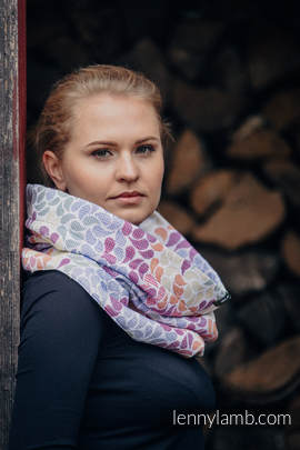 Snood Scarf - COLORS OF LIFE & SUGILITE