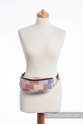 Waist Bag made of woven fabric, (100% cotton) - QUARTET