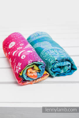 Swaddle Wrap Set - DRAGONFLY RAINBOW, SEA ADVENTURE LIGHT