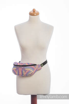 Waist Bag made of woven fabric, (100% cotton) - ILLUMINATION LIGHT