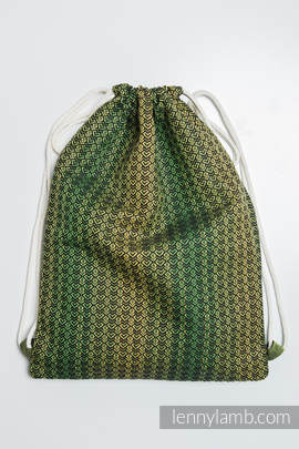 Sackpack made of wrap fabric (100% cotton) - LITTLE LOVE - LEMON TREE - standard size 35cmx45cm