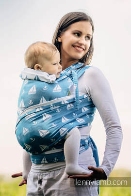 WRAP-TAI carrier Toddler with hood/ jacquard twill / 100% cotton / HOLIDAY CRUISE