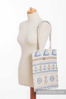 Shopping bag made of wrap fabric (100% cotton) - BALTICA 2.0