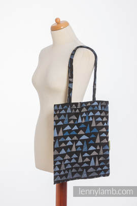 Shopping bag made of wrap fabric (100% cotton) - EAGLES' STONES