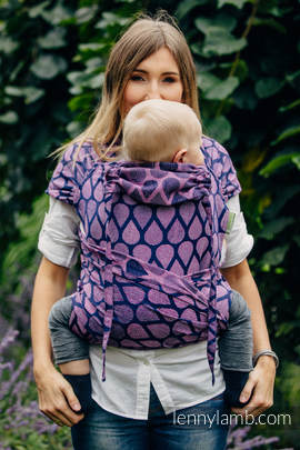 WRAP-TAI carrier Toddler with hood/ jacquard twill / 100% cotton / JOYFUL TIME WITH YOU (grade B)