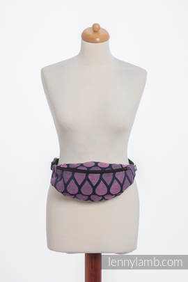 Waist Bag made of woven fabric, (100% cotton) - JOYFUL TIME WITH YOU