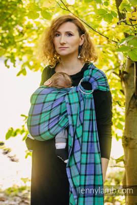Ring Sling - 100% Cotton - Twill Weave - COUNTRYSIDE PLAID