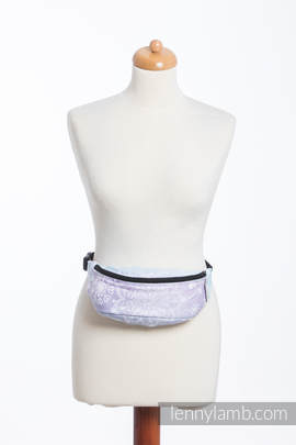 Waist Bag made of woven fabric, (96% cotton, 4% metallised yarn) - GLITTERING SNOW QUEEN
