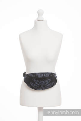 Waist Bag made of woven fabric, (96% cotton, 4% metallised yarn) - QUEEN OF THE NIGHT