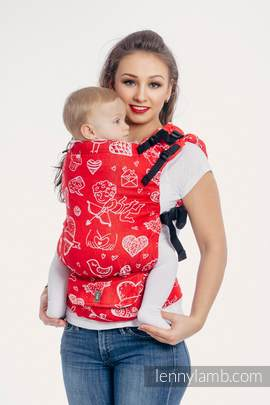 LennyUp Carrier, Standard Size, jacquard weave 100% cotton - wrap conversion from SWEET NOTHINGS