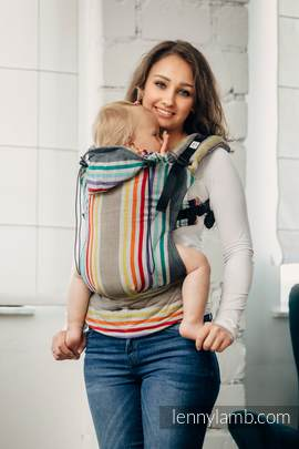 Ergonomic Carrier, Baby Size, broken-twill weave 100% cotton - wrap conversion from OASIS - Second Generation