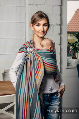 Ring Sling - 100% Cotton - Broken Twill Weave, with gathered shoulder - OASIS