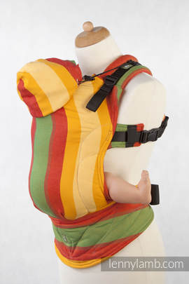Ergonomic Carrier, Baby Size, broken-twill weave 100% cotton - wrap conversion from SUMMER, Second Generation